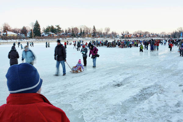 Photograph - Rideau Canal Skateway by Tatiana Travelways