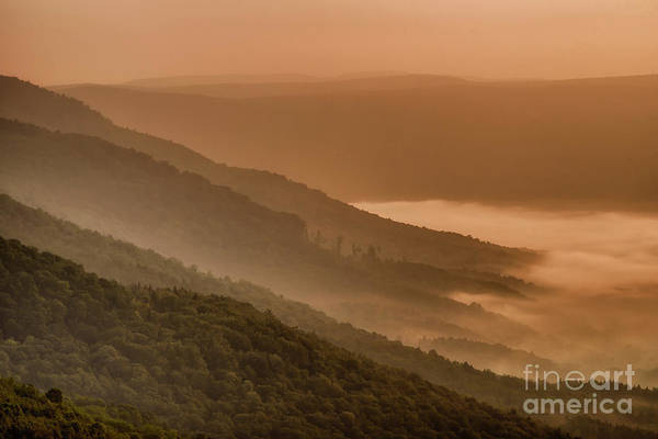 Photograph - Ridge And Valley Sunrise by Thomas R Fletcher