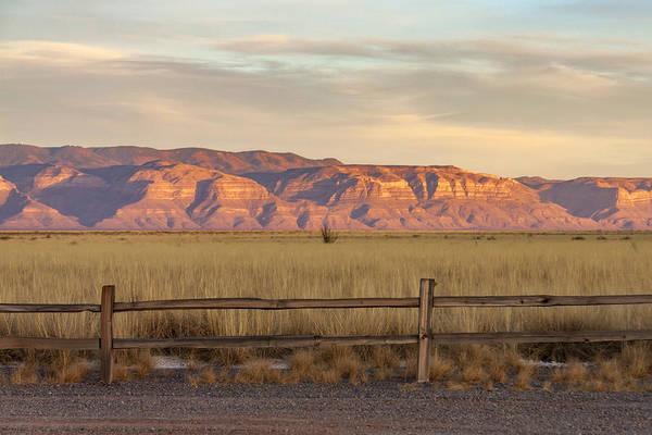 Photograph - Ridge Outside Alamogordo by Liza Eckardt