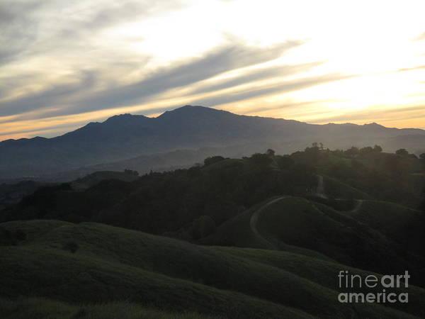 Mt. Diablo Wall Art - Photograph - Ridge Trail At Dawn by Suzanne Leonard