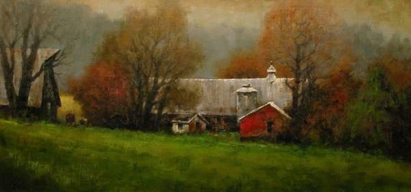 Wall Art - Painting - Ridgefield Farm by Jim Gola