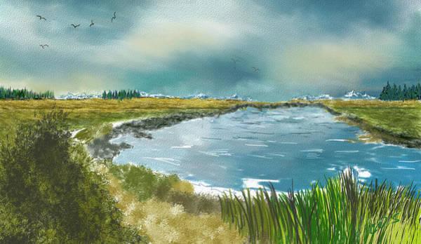 Wall Art - Digital Art - Ridgefield Reserve by Dale Stillman