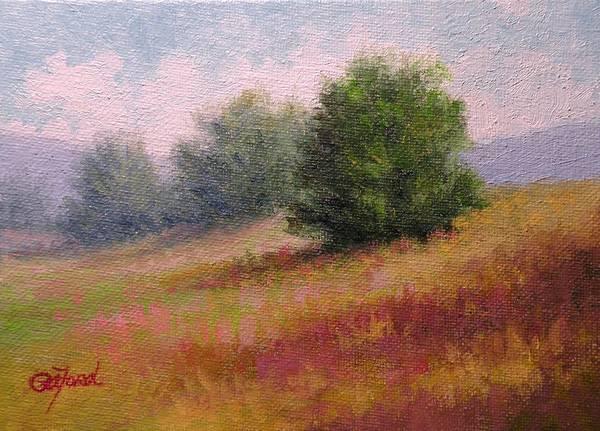 Wall Art - Painting - Ridgeline View by Paula Ann Ford