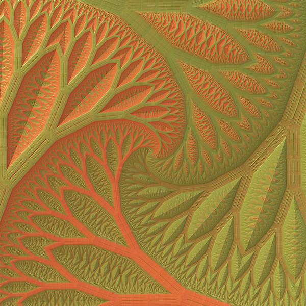 Wall Art - Digital Art - Ridges And Valleys by Lyle Hatch