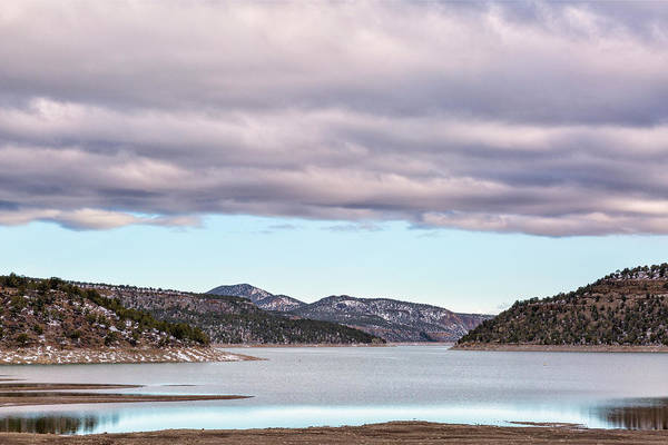Photograph - Ridgway Reservoir In April by Denise Bush