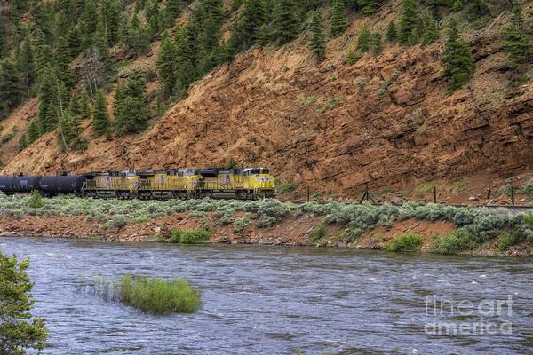 Photograph - Ridin' The Rails by Bitter Buffalo Photography