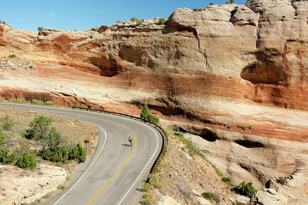 Wall Art - Photograph - Riding A Downhill Dream by John Bartelt
