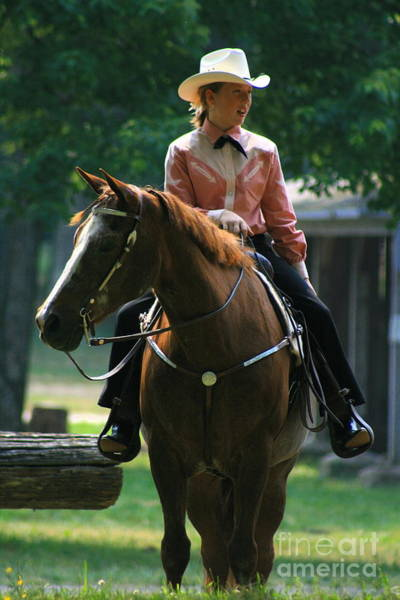 Photograph - Riding At Foothills by Angela Rath