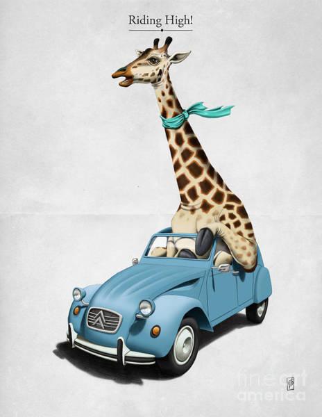 Digital Art - Riding High by Rob Snow