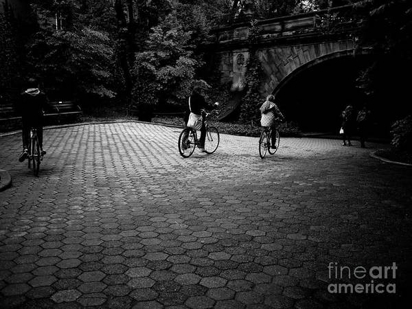Photograph - Central Park Ride by M G Whittingham