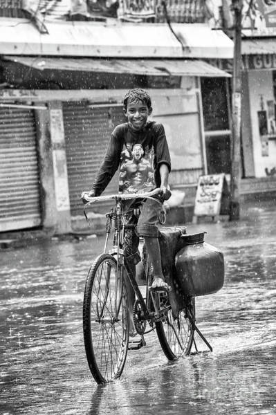 Photograph - Riding In The Rain by Tim Gainey