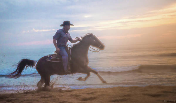 Photograph - Riding Into The Light by Janal Koenig