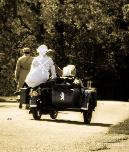 Wall Art - Photograph - Riding Side Saddle  by Steven Digman