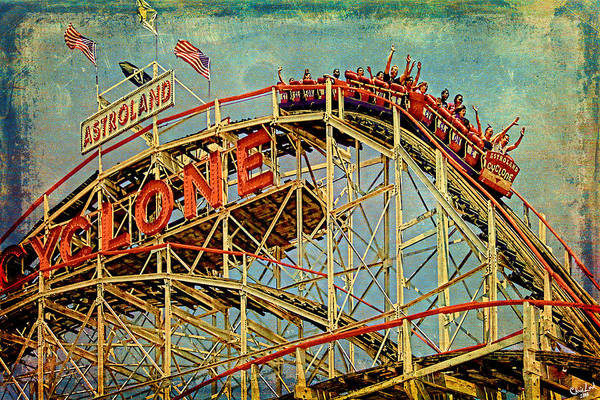 Photograph - Riding The Cyclone by Chris Lord