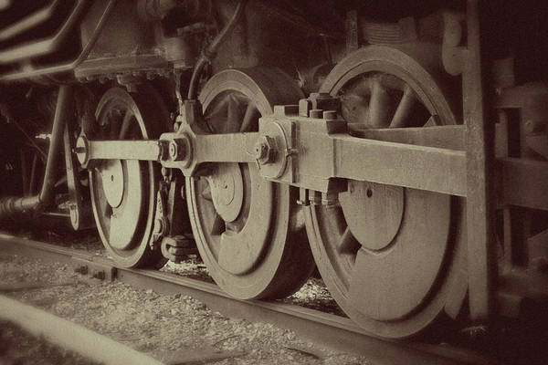 Photograph - Riding The Rails by Marie Leslie