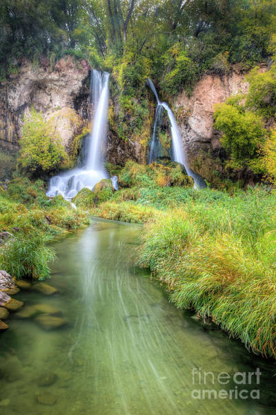 Wall Art - Photograph - Rifle Falls by Twenty Two North Photography