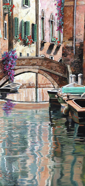 Wall Art - Painting - Riflessi Pallidi by Guido Borelli