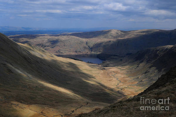 Haweswater Wall Art - Photograph - Riggindale by Smart Aviation