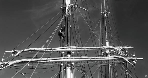 Photograph - Rigging Aloft by John Meader