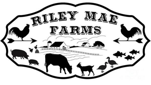 Wall Art - Digital Art - Riley Mae Farms by Jean Plout