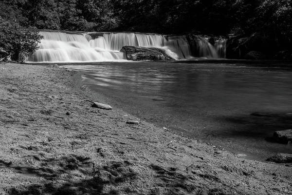 Photograph - Riley Moore Falls In Bw by Doug Camara