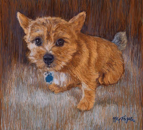 Terrier Digital Art - Riley  by Neil Feigeles