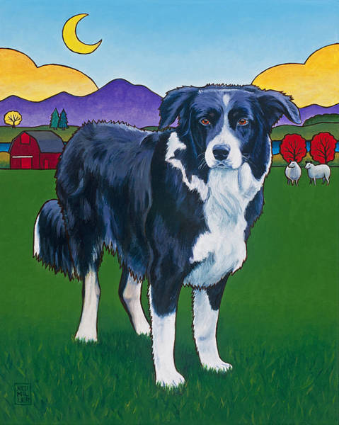 Wall Art - Painting - Riley by Stacey Neumiller