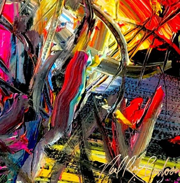 Painting - Rinestone Highway by Neal Barbosa