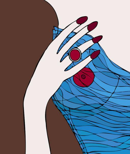 Ring Painting - Ring Finger by Frank Tschakert