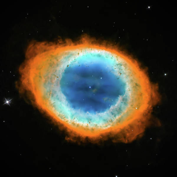 Wall Art - Photograph - Ring Nebula Close Up  by Jennifer Rondinelli Reilly - Fine Art Photography
