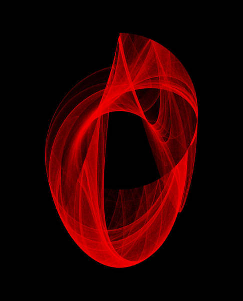 Wall Art - Digital Art - Ring Unraveling I by Robert Krawczyk