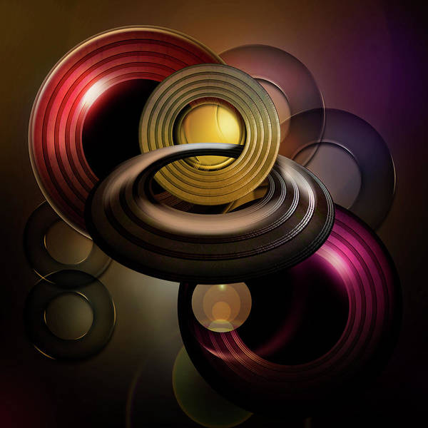 Showpiece Digital Art - Ringed by Andy Young