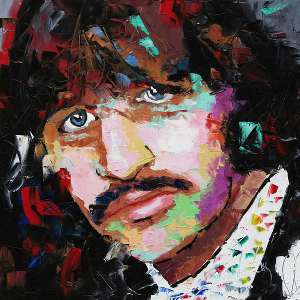 Wall Art - Painting - Ringo Starr by Richard Day