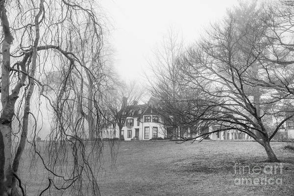 Photograph - Ringwood Manor On A Foggy Morn by Jim DeLillo