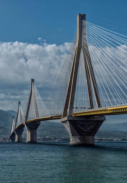 Photograph - Rio-andirio Bridge by Jaroslaw Blaminsky
