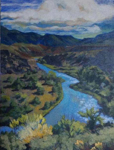 Painting - Rio Chama by Sharon Cromwell