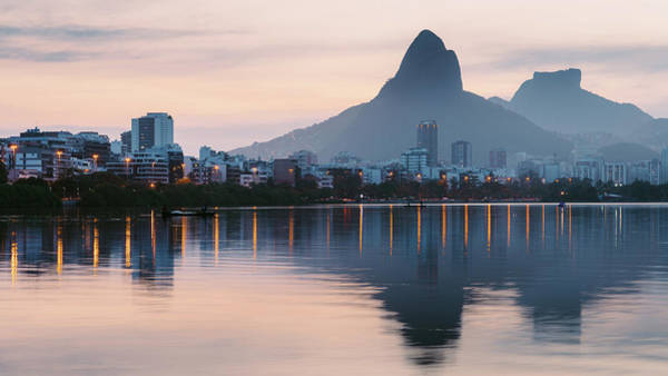 Photograph - Rio De Janeiro, Brazil Skyline by Alexandre Rotenberg