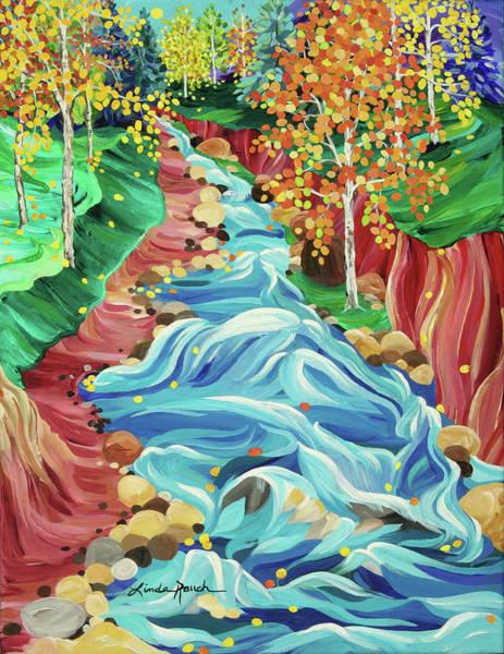 Painting - Rio Fernando Fall by Linda Rauch