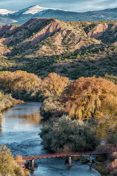 Photograph - Rio Grande Embudo Vista by Britt Runyon