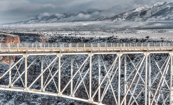 Photograph - Rio Grande Gorge Bridge #001 by Britt Runyon
