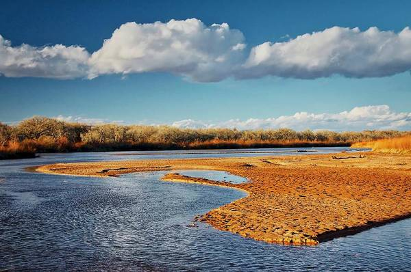 Photograph - Rio Grande Mud, Albuquerque, New Mexico by Flying Z Photography by Zayne Diamond