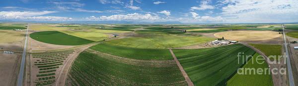 Uas Wall Art - Photograph - Rio Grande Valley Farms by Dusty Demerson