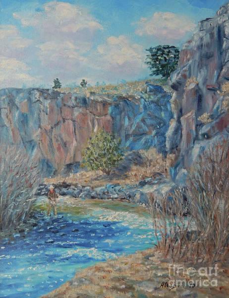 Painting - Rio Hondo by Stanton Allaben