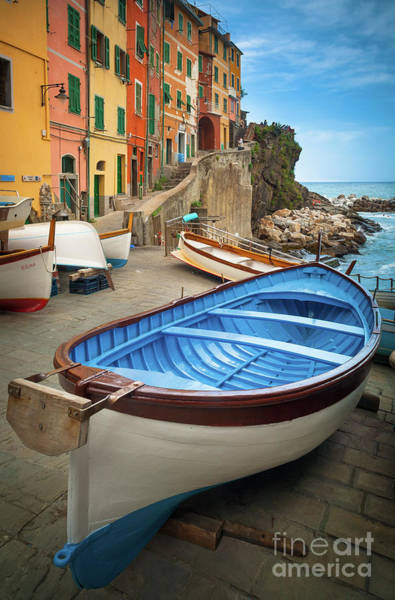 Italy Photograph - Rio Maggiore Boat by Inge Johnsson