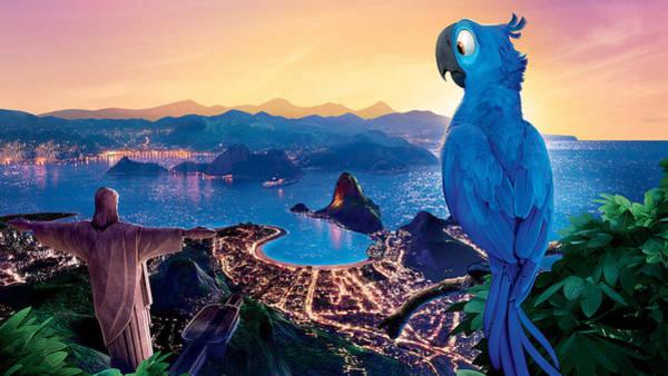 Water Digital Art - Rio by Maye Loeser