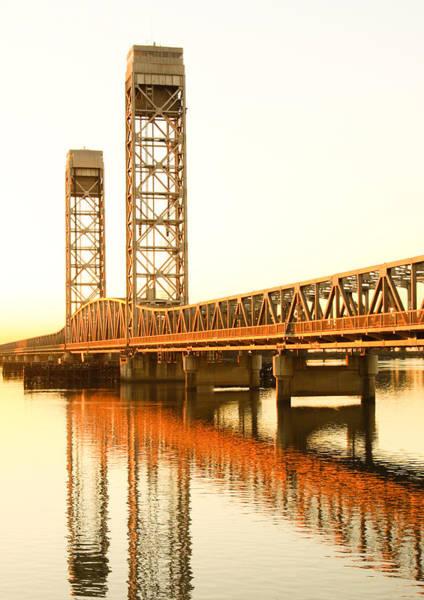 Rio Vista Bridge Sunrise Art Print