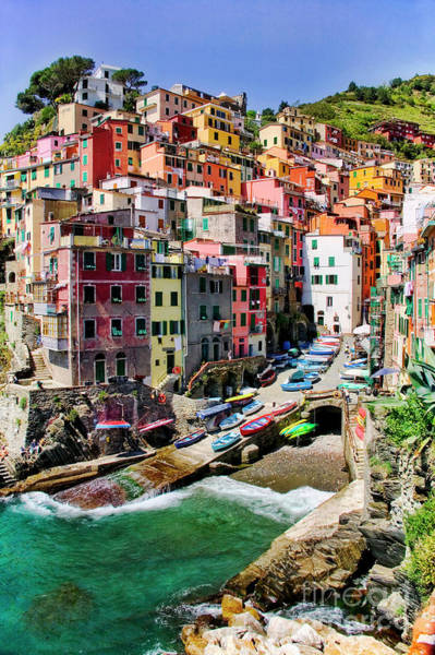 Photograph - Riomaggiore by Scott Kemper