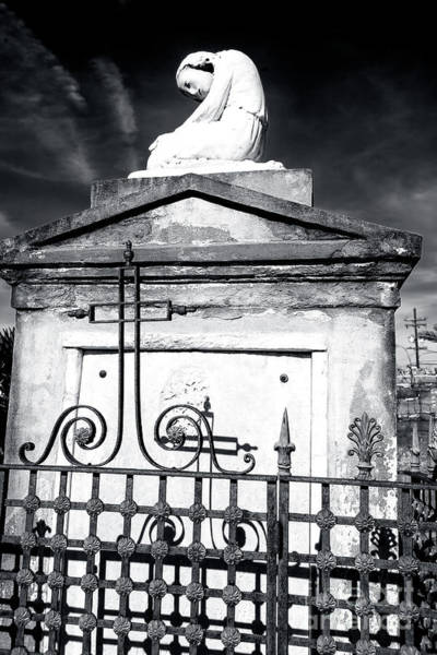 Photograph - Rip At Saint Louis Cemetery New Orleans by John Rizzuto