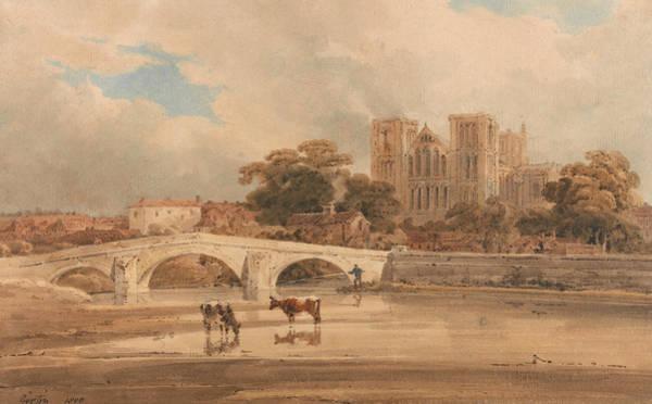 Painting - Ripon Minster, Yorkshire by Thomas Girtin