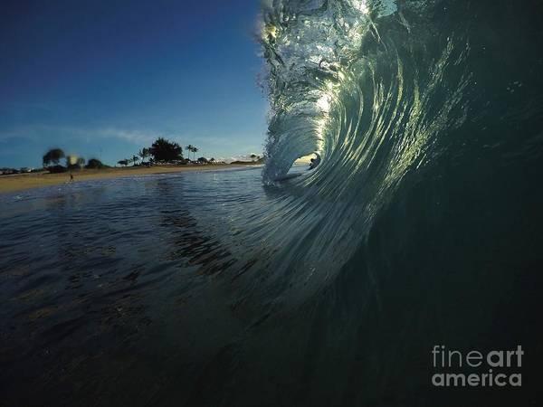Bodyboard Photograph - Ripping Gnasher  by Benen  Weir